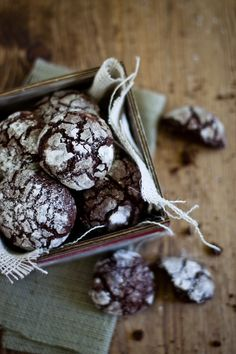 Chocolate Crinkle Cookies from Sunshine and Smile