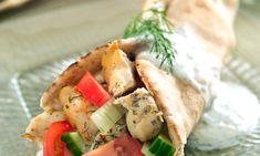 Pitas au poulet grillé | Le Poulet du Québec