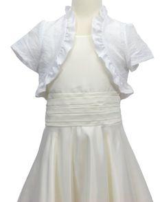 Chloe Ruffled Short Sleeve Bolero Jacket « Clothing Adds Anytime