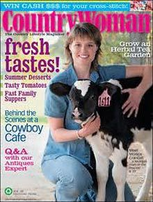 WOMEN's LIFESTYLE: Country Woman, Magazine, 1 year / 7 issues, Triple... Country Lifestyle, Women Lifestyle, Cowboy Cafe, Country Woman Magazine, International Charities, Pet Parade, Country Women, Year 7, Growing Herbs