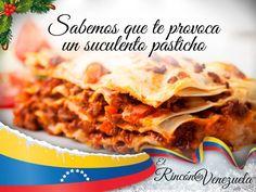 Imagen promocional de otro de los platillos típicos venezolanos entre los cuales se encuentra el pasticho comúnmente conocido como lasagna.