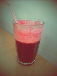 Laranja, cenoura e beterraba juice!