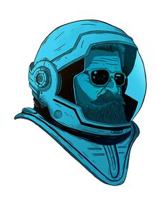 Astronaut on Behance