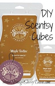 Make Your Own Scentsy Cubes ~ bummer that i passed my warmer on as the scents were too strong........hmmm