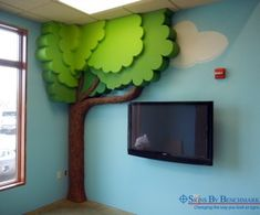 EPS cellular plastic replica tree
