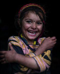 Kalash girl, Chitral area, Pakistan