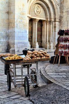 Israel Street Vendor's Cart