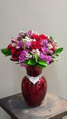 17 Best Valentines Day Flower Arrangements Images Valentines Day