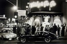 This the week of Jan in 1964 The famous Whisky A Go Go opened on the Sunset Strip in Hollywood Cali - Johnny Rivers was the house band - it would become the premier club on the Strip for the heyday the Strip enjoyed. Whiskey A Go Go, Johnny Rivers, The Ventures, Las Vegas, Nostalgia, Sunset Strip, City Of Angels, Jaguar E Type, Oui Oui