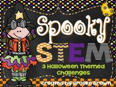 This Halloween STEM package is perfect to engage your little engineers in October! Three challenges are provided and can be completed as stations or in isolation.Challenges are designed to be completed in partners or small groups and include instructions and student recording forms for the following 3 activities:*Pumpkin Catapults*Candy Towers*Spider Web BridgesThank you so much for visiting my store!