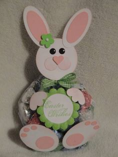 Bunny Treat bag by DiannaJ - Cards and Paper Crafts at Splitcoaststampers