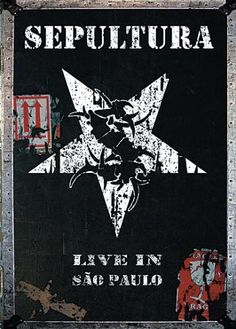 """Doppio DVD dei #Sepultura intitolato """"Live in Sao Paulo""""."""