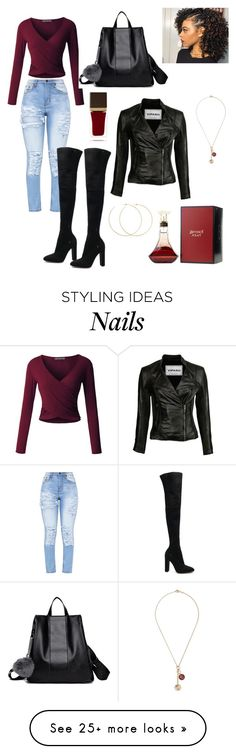 """""""Fierce"""" by giainawarren on Polyvore featuring LE3NO, Gianvito Rossi, Tom Ford, Allison Bryan and Foundrae"""