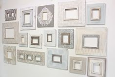 Shabby Wall Grouping - Delta Frame Girls