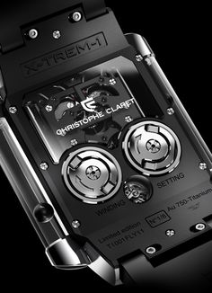 Magically floating Metal balls tell the time with the Christophe Claret X TREM-1