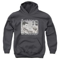 Andy Griffith - Wise Words Youth Pull-Over Hoodie