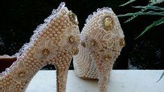 Sapatos  para  noivas, 15 anos e ocasiões especiais.  WhatsApp (85)98843.8800