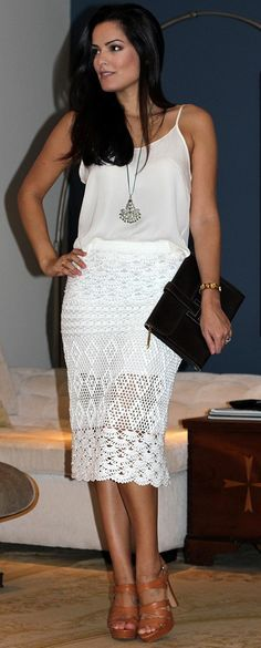 crochet skirt ...crochet inspiration ONLY...