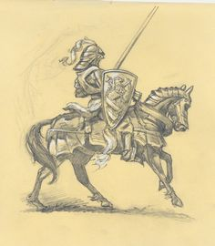 #illustration #sketch #knight