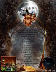 Evoking a witch - magick spell