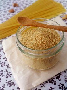 Parmesan végétal (à base de noix de cajou et levure maltée)