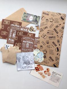 Ephemera Craft Paper Japanese Set I by TaraKamiya on Etsy