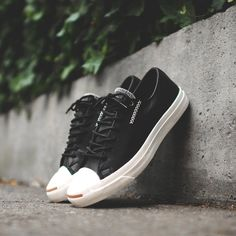 Fancy - Cross Stitch Leather Sneakers by Converse x Jack Purcell