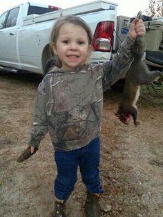 Future daughter minus the squirrel