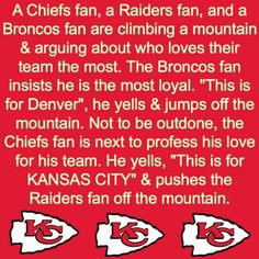 Some Sunday Humor! Chiefs Memes, Funny Football Memes, Football Humor, Nfl Quotes, Kc Cheifs, Kansas City Chiefs Shirts, Royals, Nfl Football, Funny Things