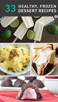 33 Frozen Desserts to Keep Summer Alive Year-Round http://greatist.com/eat/frozen-dessert-recipes
