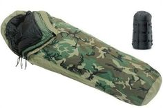 US Military 4PC Weather Resistant Modular Sleep System with Waterproof GoreTex Cover *** Click on the image for additional details.