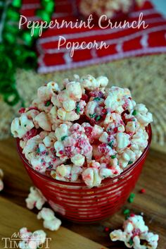 You're going to love the fabulous flavor and satisfying crunchy sweetness of this Peppermint Crunch Popcorn!...