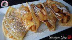 Blondynka Gotuje: Pomarańczowe Naleśniki z Karmelizowanymi Jabłkami