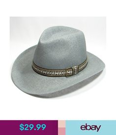 Hats Handmade Mens Cowboy Fedora Panama Hat-717 Gray  ebay  Fashion 4a50cd1bb6f5