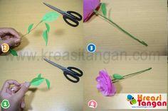 Langkah-terakhir-cara-emembuat-bunga-dari-kertas-yang-sederhana