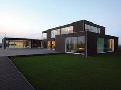Casas Pré-Fabricadas Estilo Europeu - http://www.casaprefabricada.org/casas-pre-fabricadas-estilo-europeu