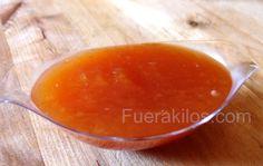 Mermelada de Melocotón Rojo Sin Azúcar