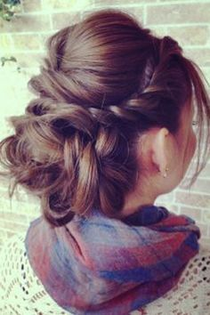 French Twist Updos for Long Hair