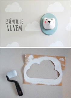 ARREDAMENTO E DINTORNI: semplici decorazioni a parete per la camera dei bambini