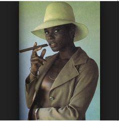 Gloria Hendry, style icon.