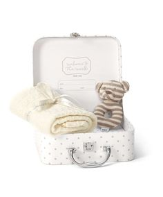 Welcome to the World - Suitcase Hamper - Newborn Gift Ideas - Mamas & Papas