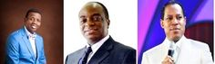 view point: ADEBOYE, CHRIS AND OYEDEPO: MEN OF GOD OR MEN OF G...