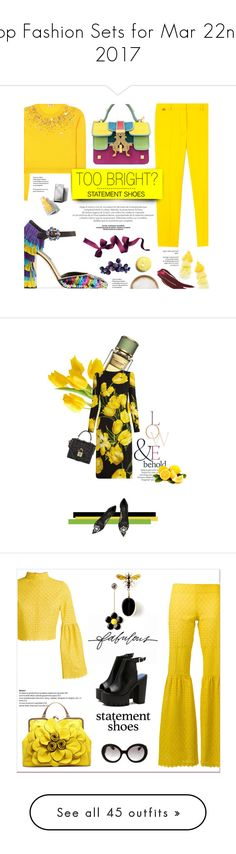 """Top Fashion Sets for Mar 22nd, 2017"" by polyvore ❤ liked on Polyvore featuring Dolce&Gabbana, Paul Smith, Miu Miu, Misa, Giancarlo Petriglia, Caffé, Burberry, yellow, dolceandgabbana and miumiu"