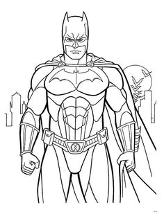 batman printable coloring pages for kids and for adults