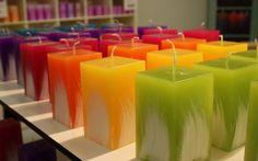 Small Lieska candles in our shop www.kalevantuli.net