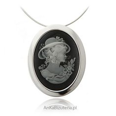 wisiorek Kamea dla kobiet, zobacz biżuterię srebrną! Decorative Plates, Pendant Necklace, Jewelry, Jewlery, Jewels, Jewerly, Jewelery, Drop Necklace, Accessories