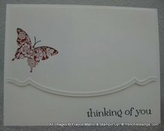 Stamp & Scrap with Frenchie: Elegant Butterfly with Adorning Accents Edgelits and Folder all in one video