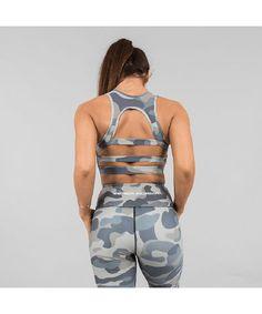 Versa Forma Camo Crop Bra Army Edition-Versa Forma-Gym Wear