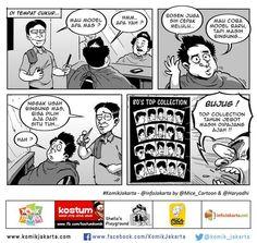 Cukur Top Collection #KomikJakarta @haryadhi