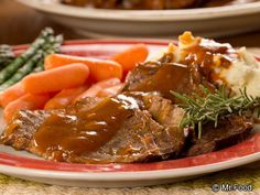 Slow Cooker Country Pot Roast | mrfood.com
